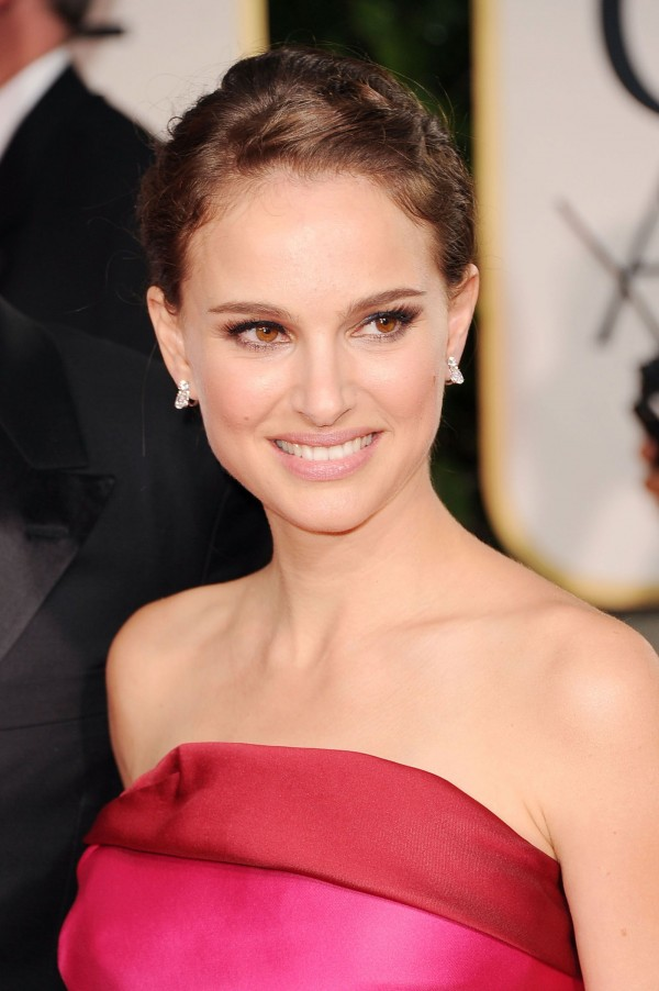 Natalie Portman at Golden Globe Awards