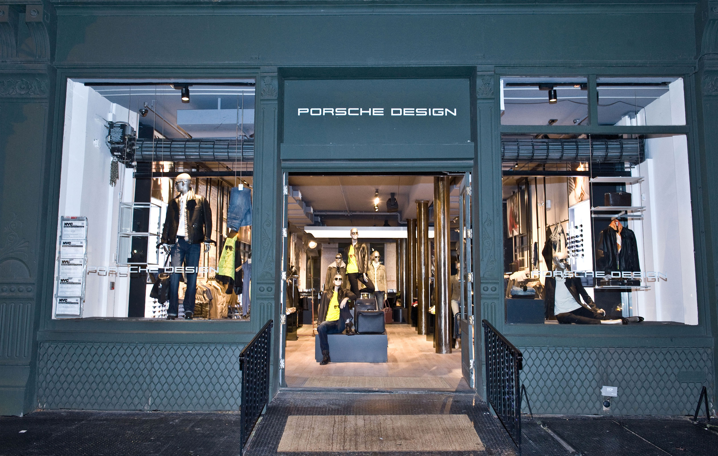 World S Largest Porsche Design Store In Soho Extravaganzi