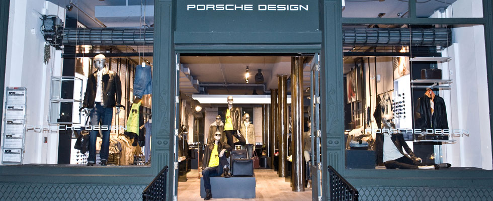 World's Largest Porsche Design Store in SoHo