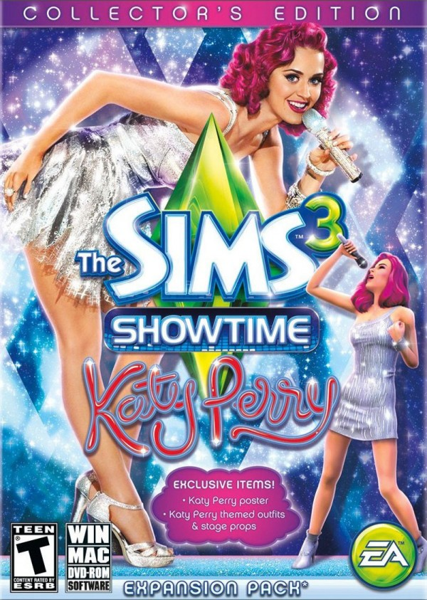 The Sims 3: Showtime Katy Perry Collector's Edition