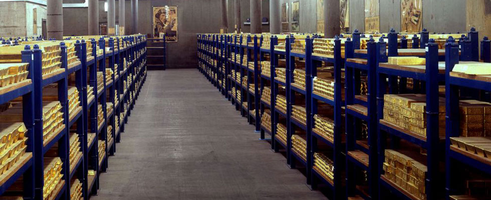 £156 Billion Worth of Gold Stored Deep Below the Streets of London