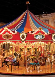 1998 46-Foot Custom Carousel With 42 Animals, 2 Chariots and Wurlitzer 153 Band Organ