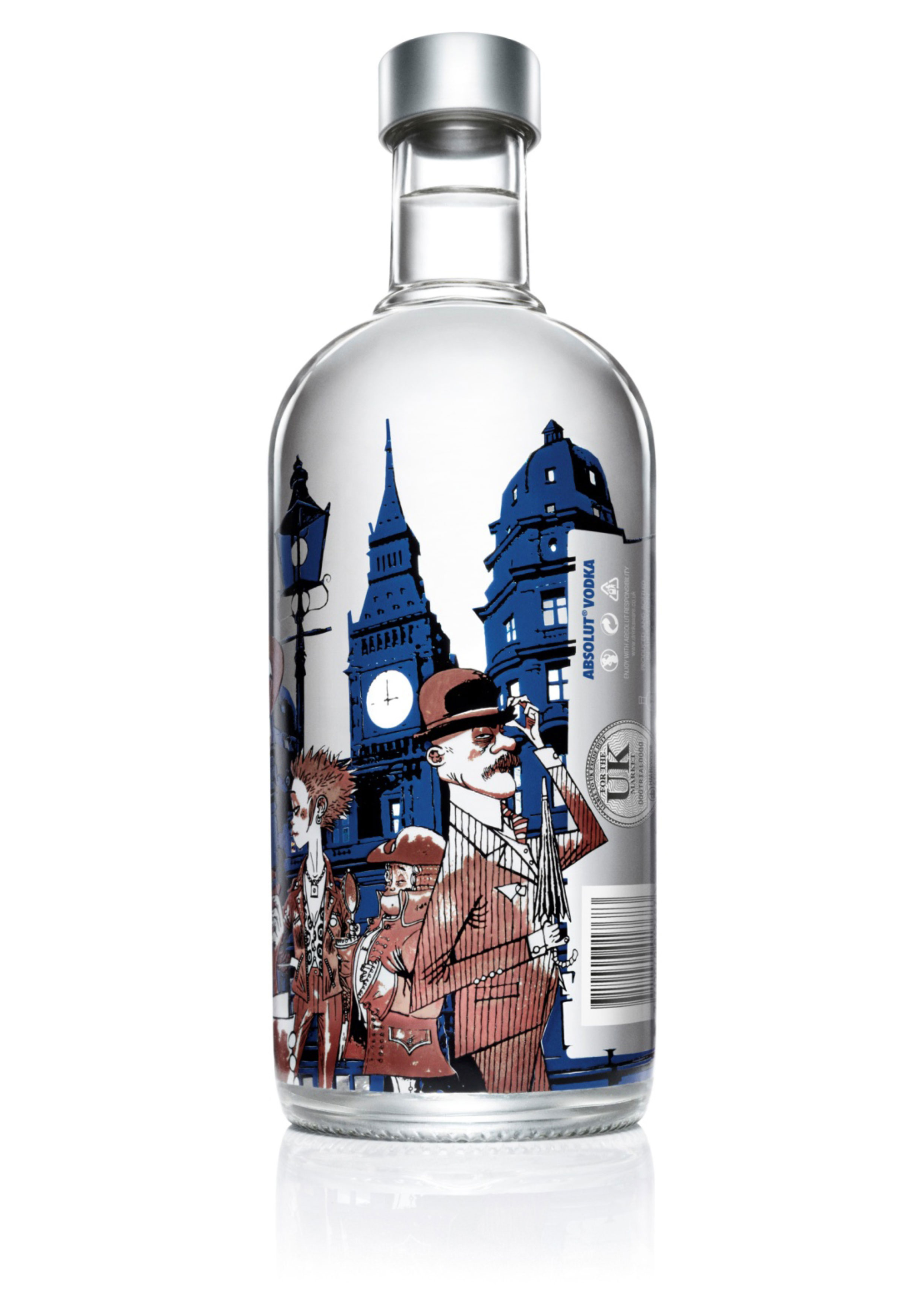 Absolut Vodka Limited Edition London Bottle by Jamie ...