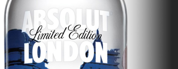 Absolut Vodka Limited Edition London Bottle by Jamie Hewlett