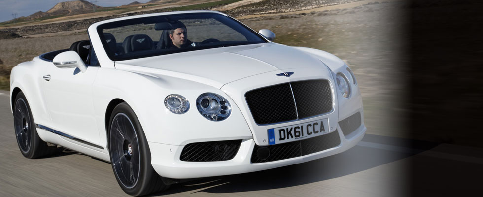 New Bentley Continental GTC V8