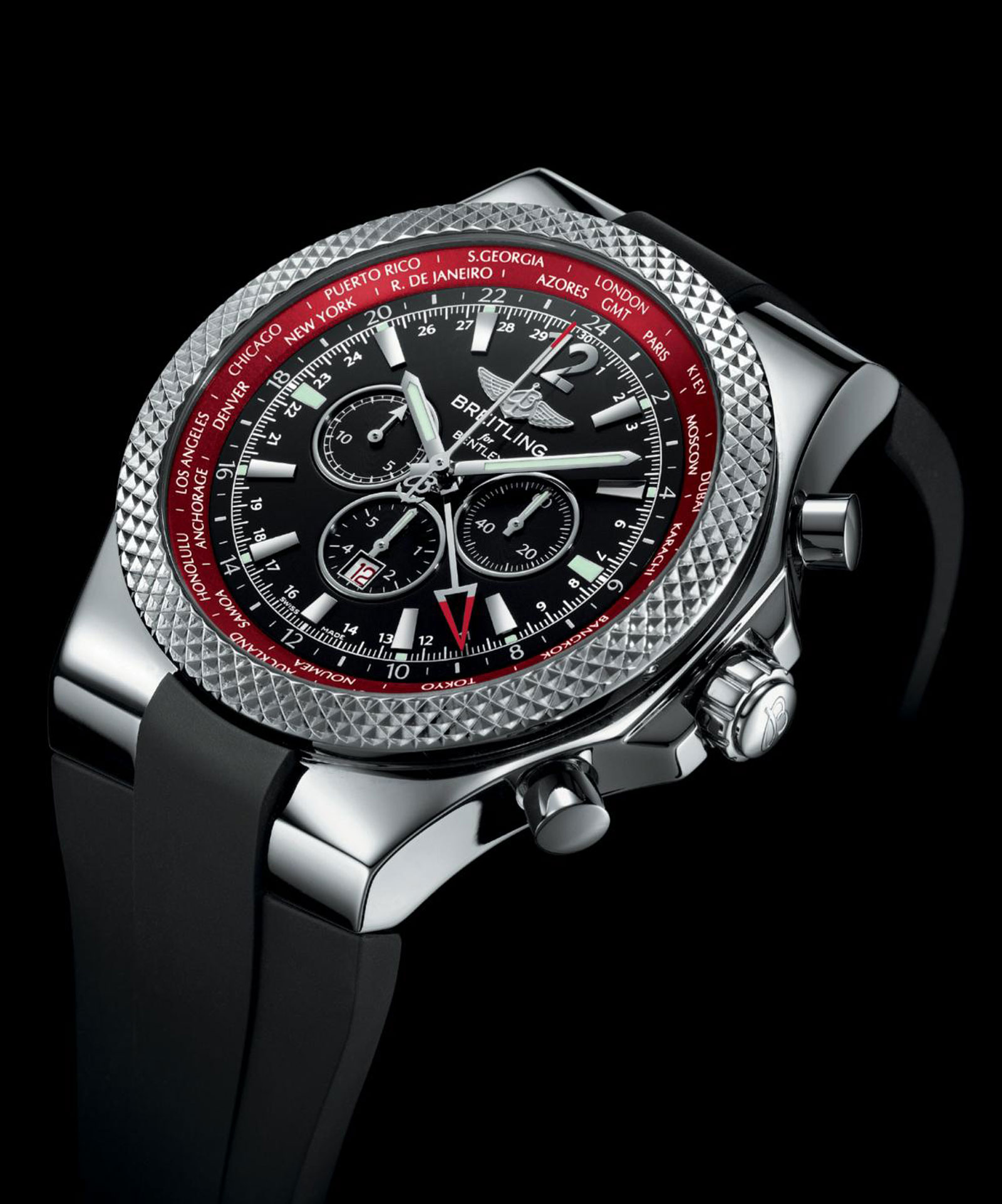 limited edition breitling for bentley gmt v8 chornograph extravaganzi. Black Bedroom Furniture Sets. Home Design Ideas