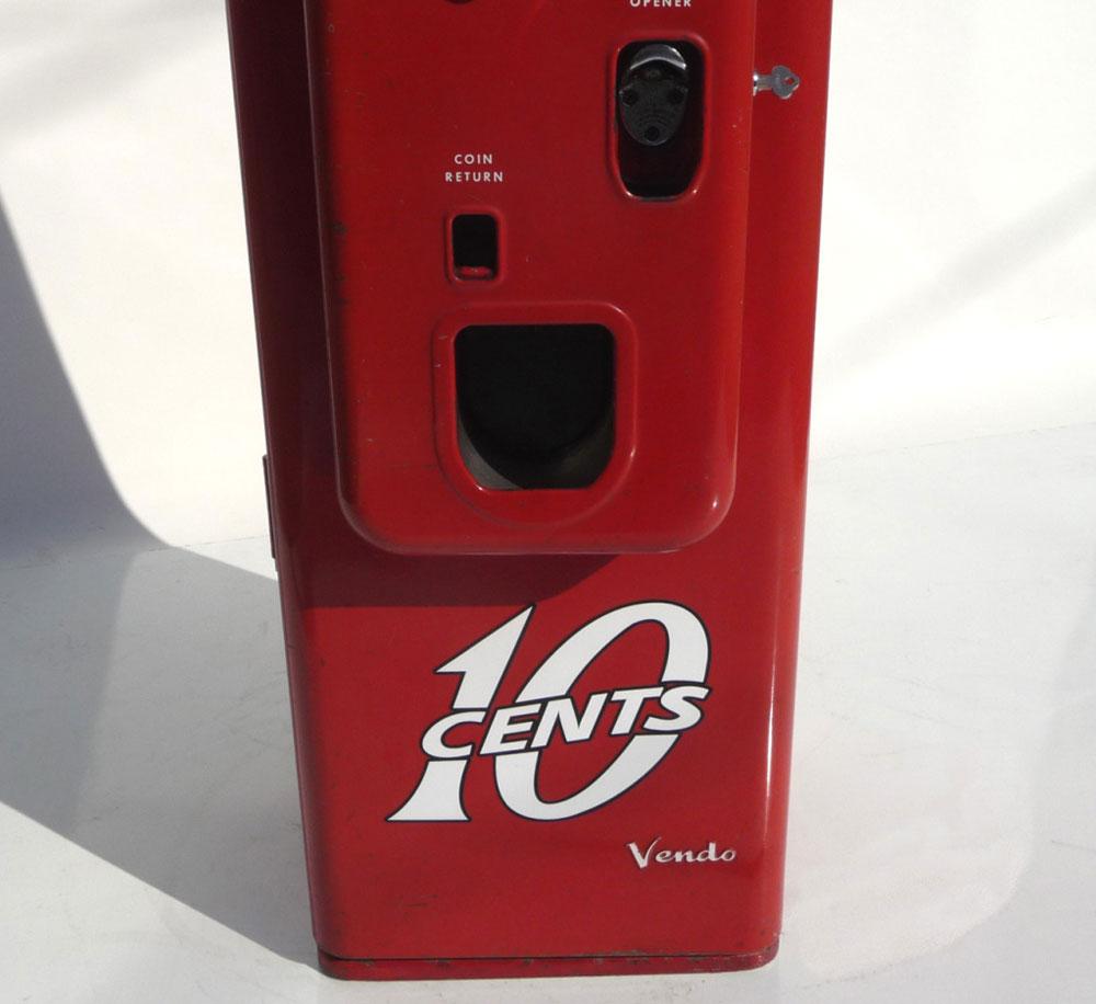 coca cola soda machine