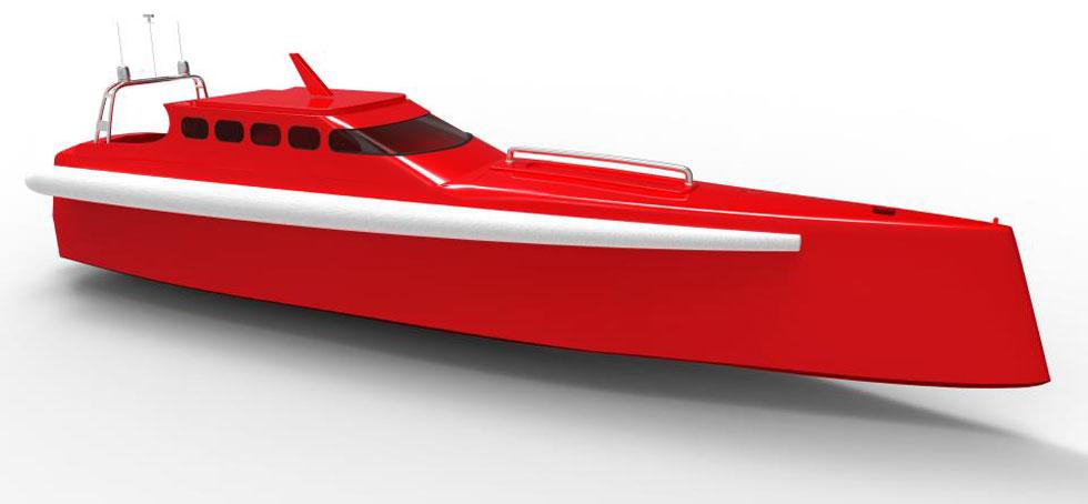 Company85 Global Challenge motor yacht