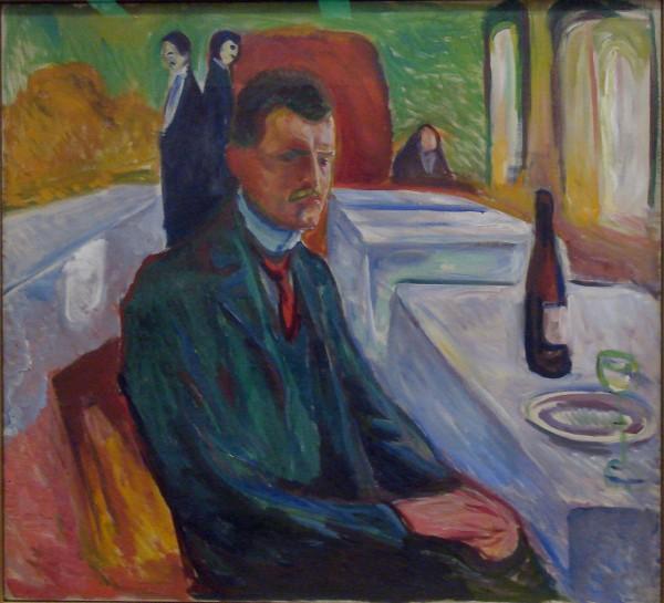 Edvard Munch's Selfportrait