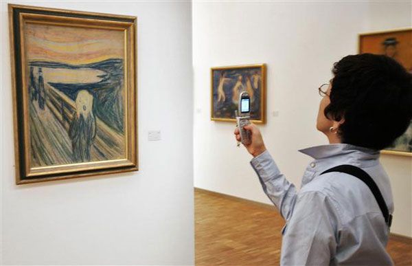 Edvard Munch's The Scream Artwork
