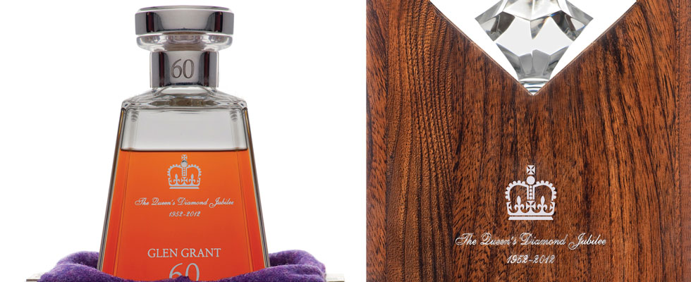 Glen Grant 60 Years Old Queen Elizabeth II Diamond Jubilee Whisky