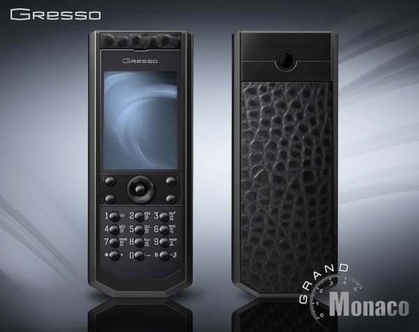 Gresso Grand Monaco Pure Black Cayman Phone