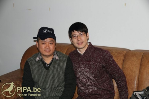 Hu Zhen Yu left, together with PIPA Distributor Green Xiang