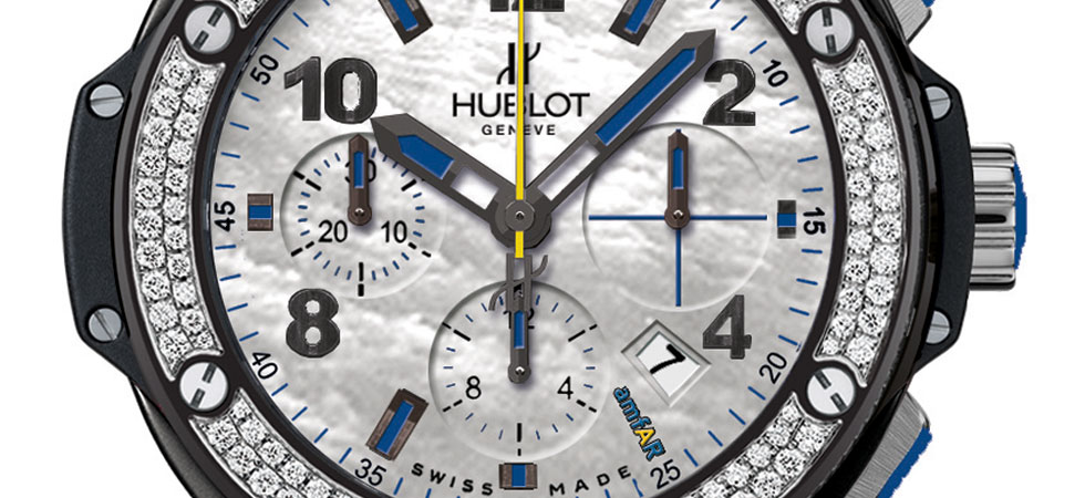 Hublot Launches Limited Edition Woman&#8217;s Timepiece for amfAR New York Gala