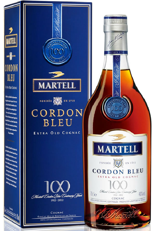 Martell Cordon Bleu Centenary Standard Edition Coganc
