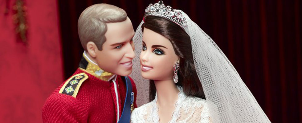 Mattel's Prince William And Kate Middleton Royal Wedding Dolls Set for Release