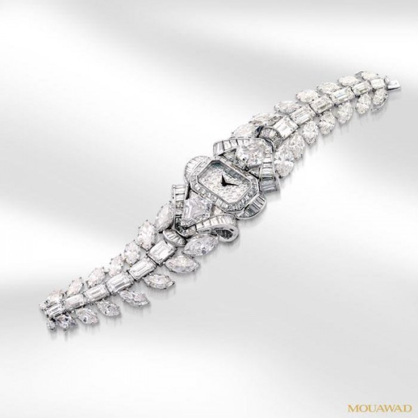 Mouawad's $6.8 Million Snow White Princess Diamond Watch