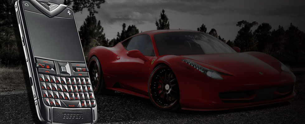 Vertu Constellation Quest Ferrari Inspired by 458 Italia Sports Car