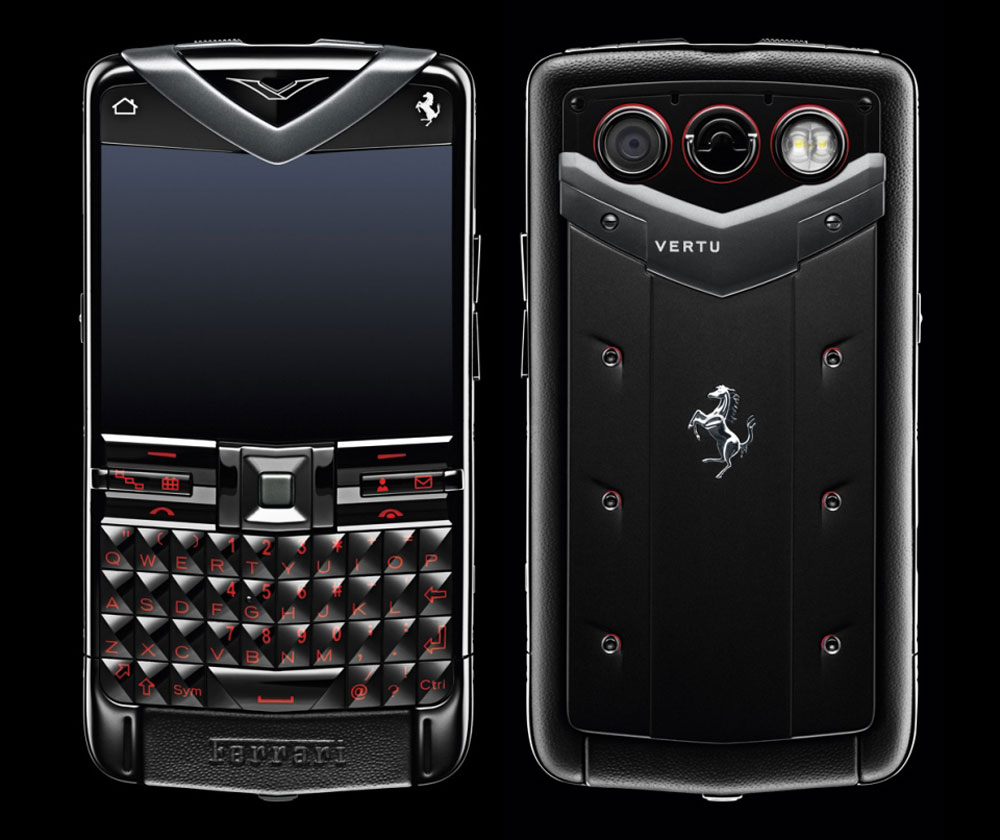 Vertu Constellation Quest Ferrari Inspired by 458 Italia Sports Car - eXtravaganzi