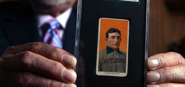 1909 Card of Pittsburgh Pirates Shortstop Honus Wagner