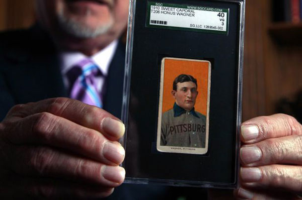 Honus Wagners Rare Baseball Card May Fetch $1.5 Million at Auction