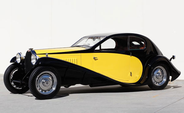 1930 Bugatti Type 46 Superprofile Coupe