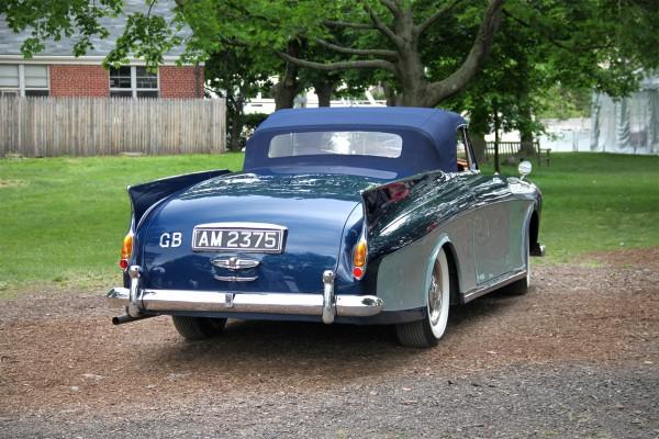 1958 Rolls-Royce Silver Cloud I Honeymoon Express Drophead Coupe