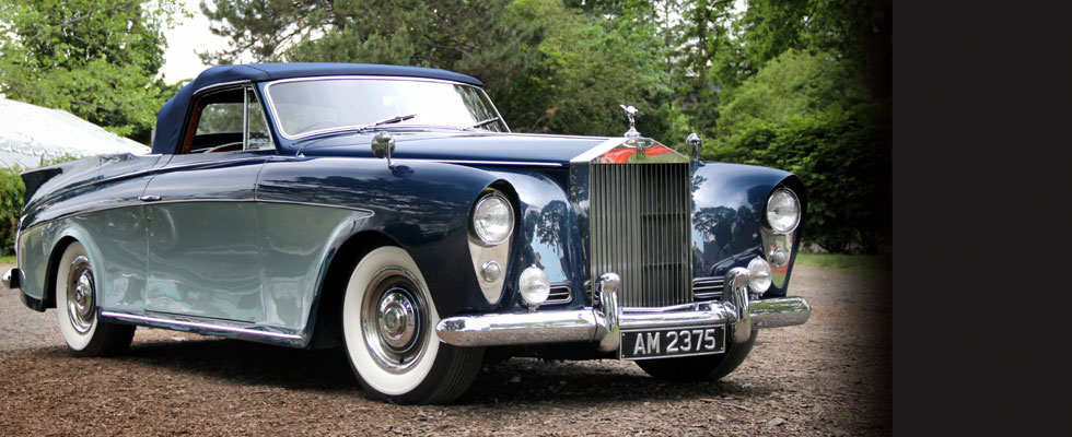 1958 Rolls-Royce Silver Cloud I Honeymoon Express Drophead Coupe