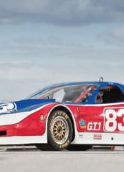 2002 Chevrolet Corvette Riley & Scott Racing Car