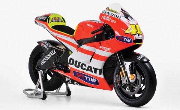 2011 Ducati Desmosedici GP11 VR2
