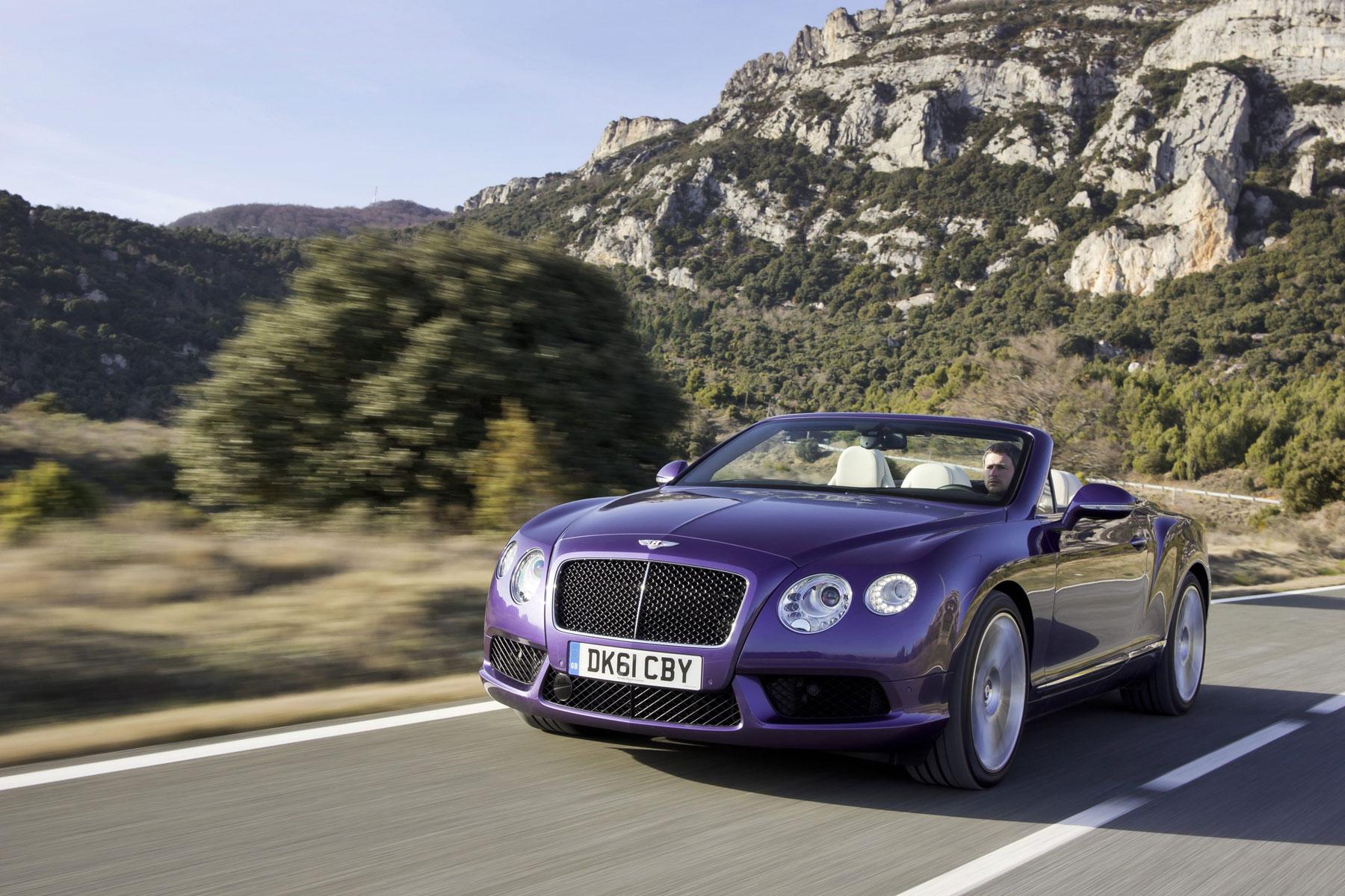 New Bentley Continental Gtc V8 Arrives In Geneva