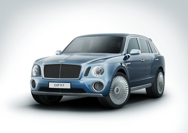 Bentley EXP 9 F - Luxury Performance SUV