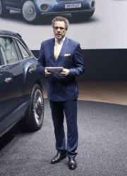Bentley EXP 9 F at Geneva Motor Show