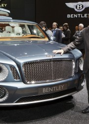 Bentley EXP 9 F at Geneva Motor Show