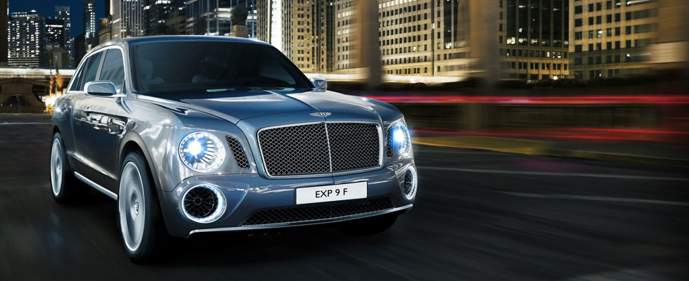 Bentley Reveals EXP 9 F  A Pinnacle Luxury Performace SUV Design Concept