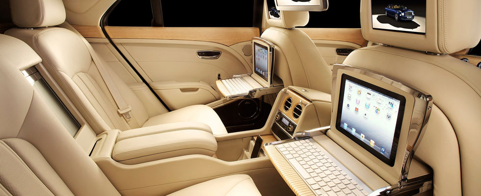 Bentley Mulsanne Offers Stateoftheart Multimedia Connectivity on the Move