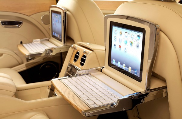 Bentley Mulsanne iPad Picnic Tables