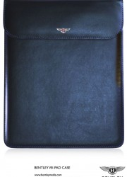 Bentley V8 iPad Case