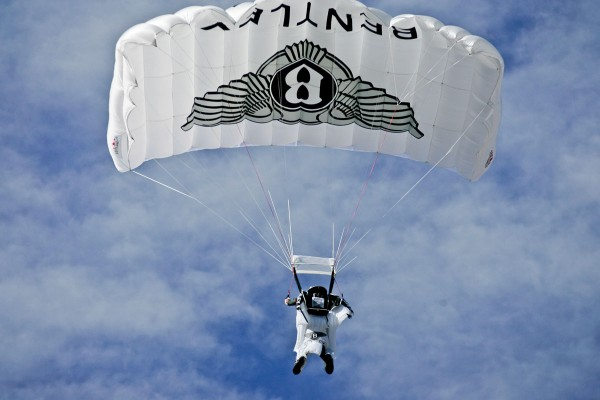 Bentley AFW Winged B Skydive Launch