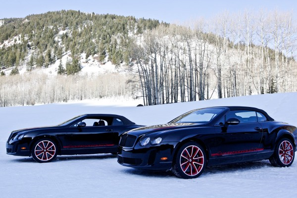 Bentley Continental Winter Drive