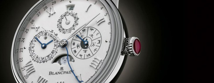 Blancpain's Villeret Traditional Chinese Calendar Watch