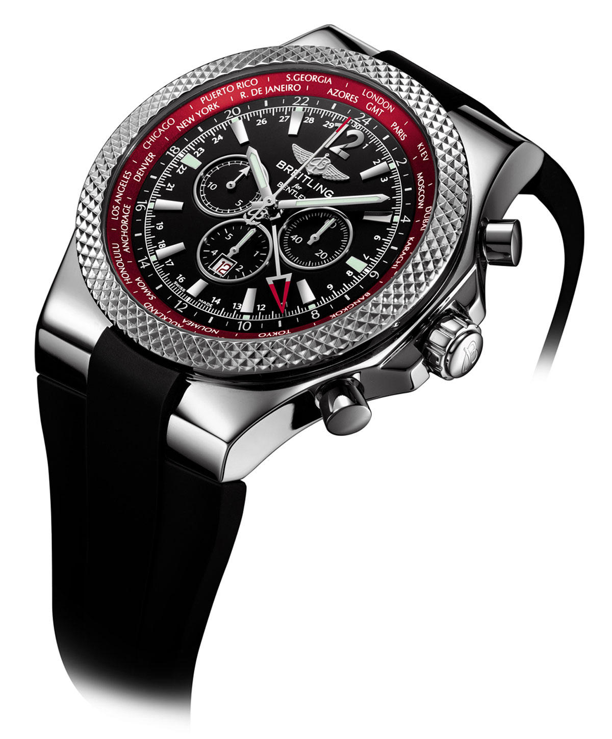 Breitling Bentley Gt Wristwatches: A New Range For BENTLEY Collection Inspired By The