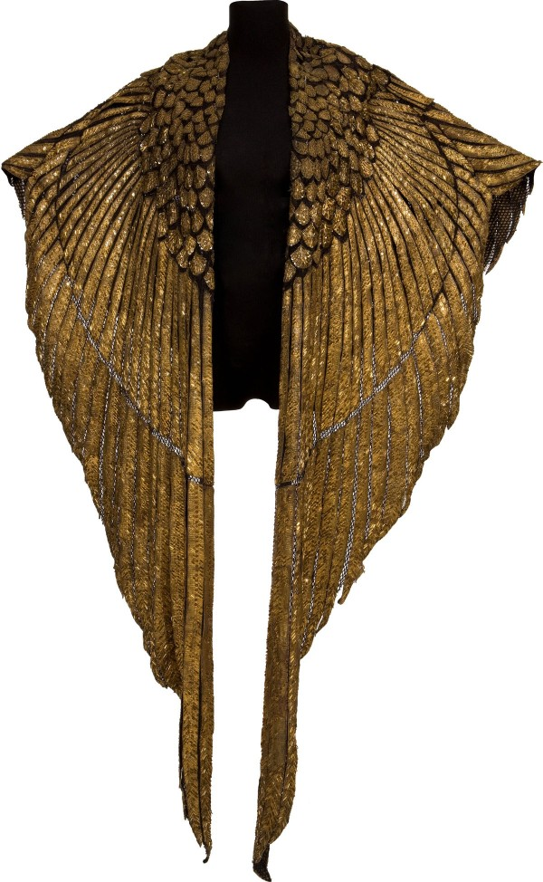 ELIZABETH TAYLOR's Gold Cleopatra Cape