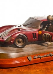 Ferrari 250 GTO Bronze Sculpture