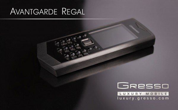 Gresso Regal Black Phone