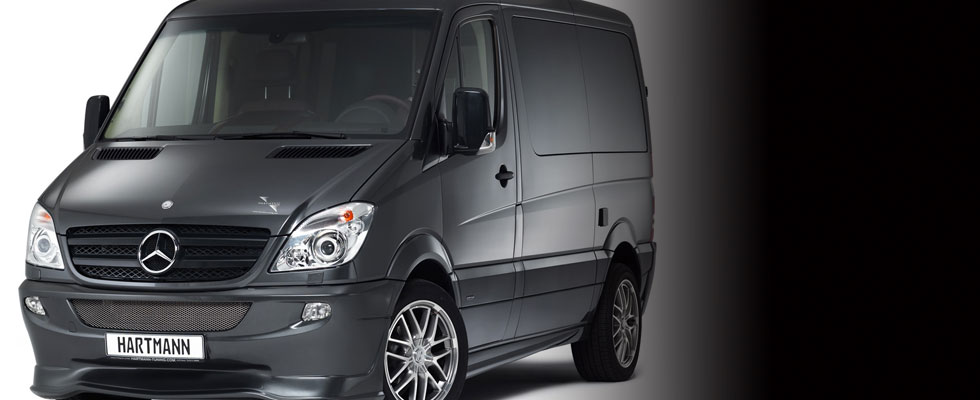 HARTMANN MERCEDES-BENZ SPRINTER &#8211; Luxury Rolling Airplane