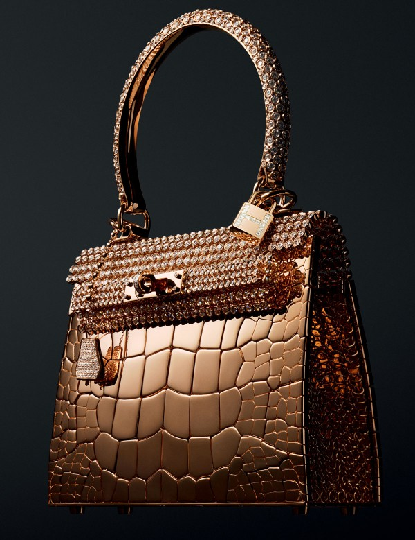 Hermès $1.9 Million Diamond-studded Birkin Handbag