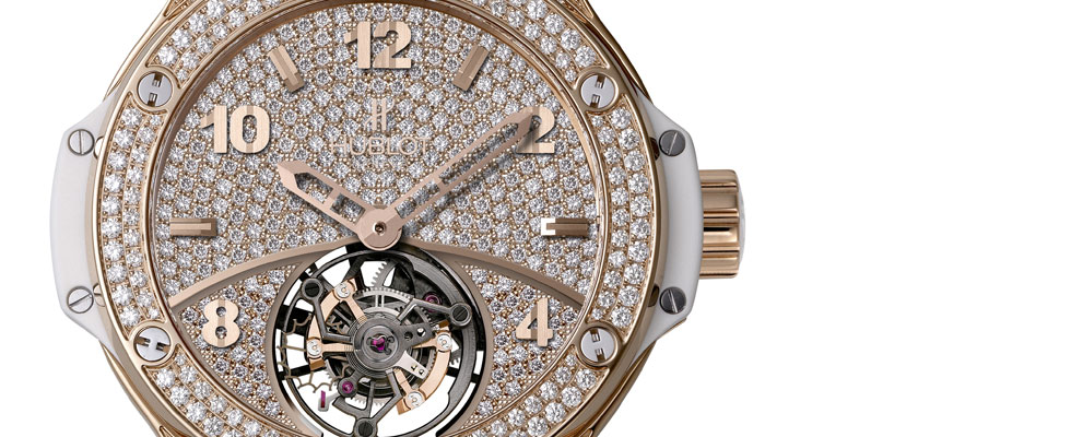 Hublot Launches Tutti Frutti Tourbillon Pav Watch for Ladies