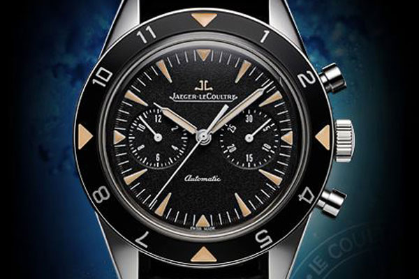 JAEGER-LeCOULTRE Deep Sea Vintage Chronograph Prototype N 1 Sold for 9,300