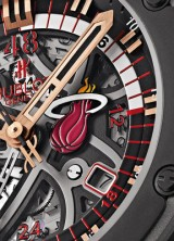 HUBLOT Unveils First-Ever King Power Miami HEAT Chronograph